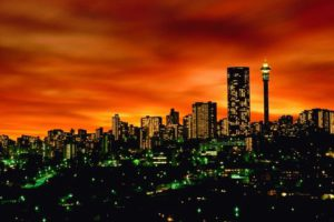 Working in Johannesburg